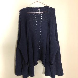 Free people boyfriend cardigan size medium
